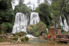 Vodopády Kravica v Hercegovině