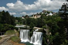 Jajce, významné město středověké Bosny