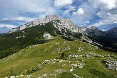 Bosanski Maglič (2386 m. n. m.) nejvyšší hora Bosny a Hercegoviny