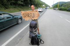 Autostop do Sarajeva