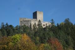 Landštejn, jeden z nejrozsáhlejších hradů u nás