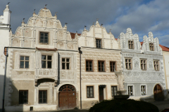 Slavonice, perly renesanční architektury