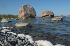 Kámen na pláži