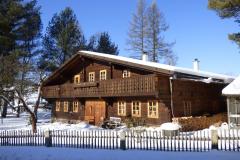 Volary, lidová architektura v alpském stylu