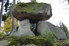 Medvědí stezka, bizarní balvany