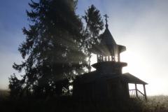 kaple u samoty Uzkie (Zaoněží)