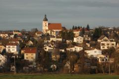 Rudolfov, panorama bývalého hornického města