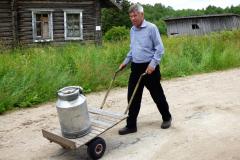 Transport pitné vody do domácnosti