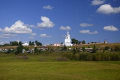 Odlehlý klášter v Uljanovsku (republika Komi)