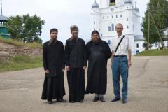 Mniši kláštera v Uljanovsku