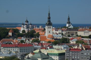 Estonsko, středověký Tallin