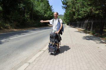 Autostop v Makedonii fungoval skvěle